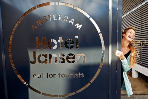Not for tourists. Hotel mikt op doelgroep young professional
