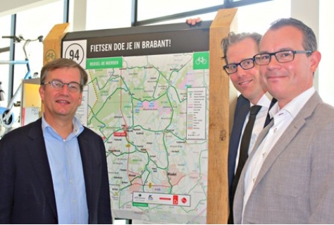 Beacon-technologie langs Brabantse fietsroutes
