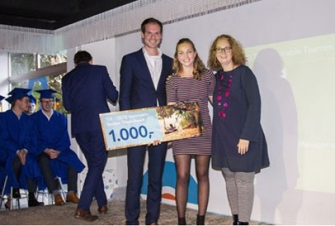 TUI-CELTH Sustainable Tourism Thesis Award uitgereikt