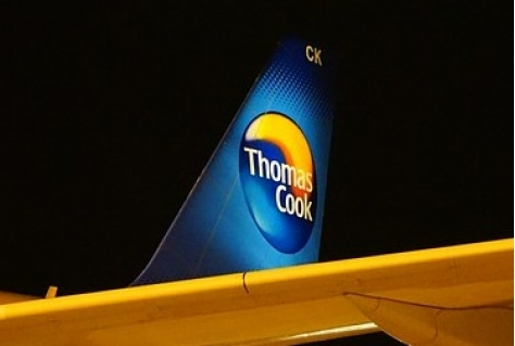 Thomas Cook toch down