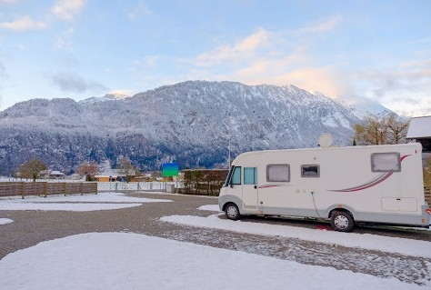 Dertig procent camperaars in de winter op pad