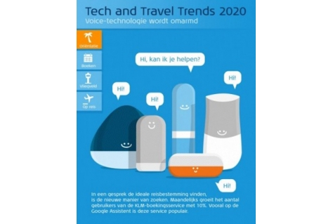 KLM blikt vooruit met Tech & Travel Trends 2020