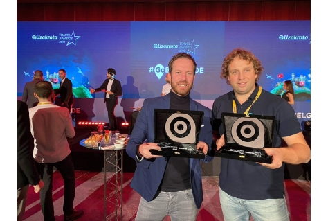 Tech-Travel innovators Bidroom en Tiqets uitgeroepen tot beste start-up en beste scale-up