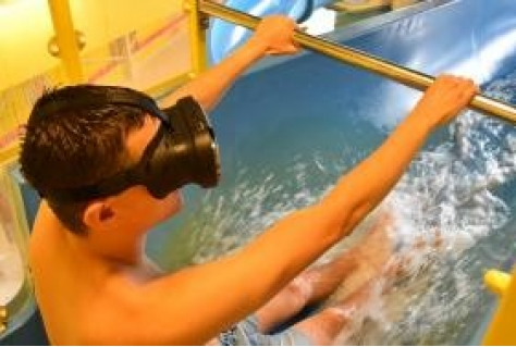 Eerste Virtual Reality waterglijbaan in Nederland