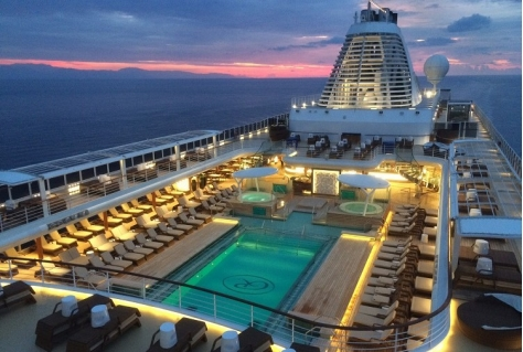 Cruiseschip Seven Seas Explorer in vierdelige documentaire